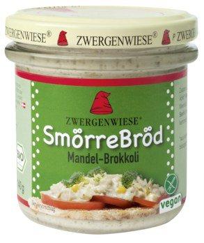 SmörreBröd Mandel-Brokkoli Brotaufstrich