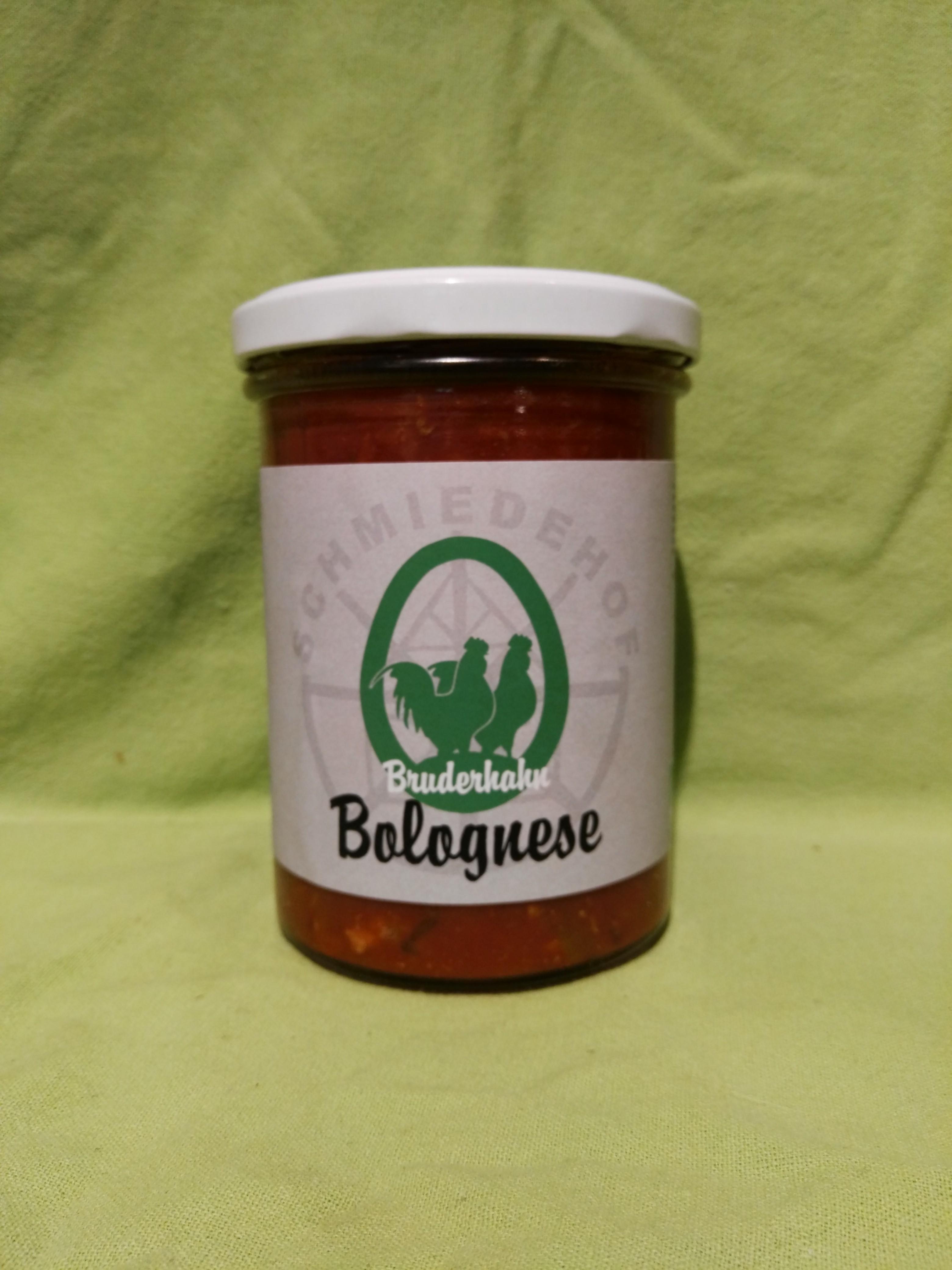Bio Bruderhahn - Bolognese