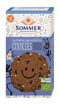 Bio Cookies Schoko Cashew