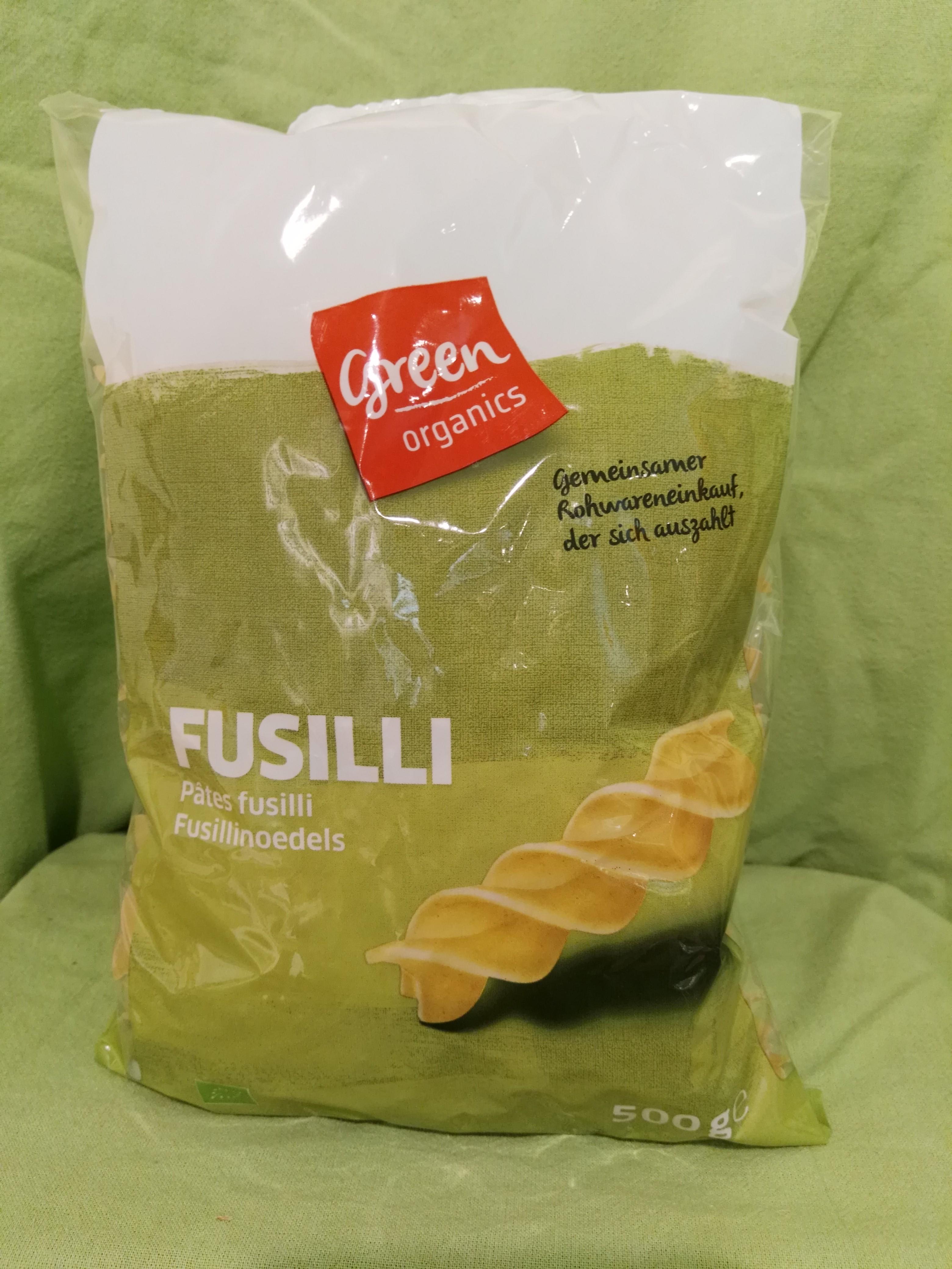 Bio Fusilli Nudeln