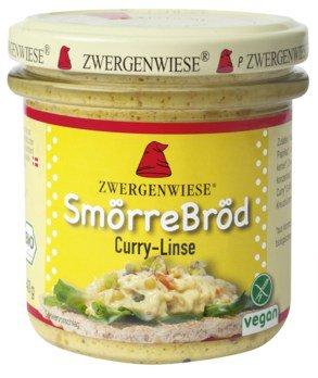 Smörrebröd Curry-Linse Bio Brotaufstrich