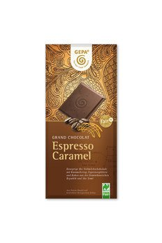 Bio Espresso Caramel Schokolade