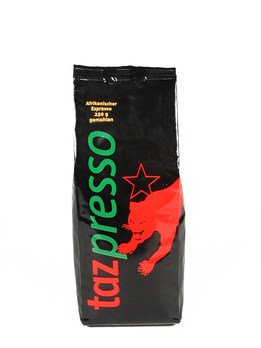 Bio Espresso Tazpresso gemahlen