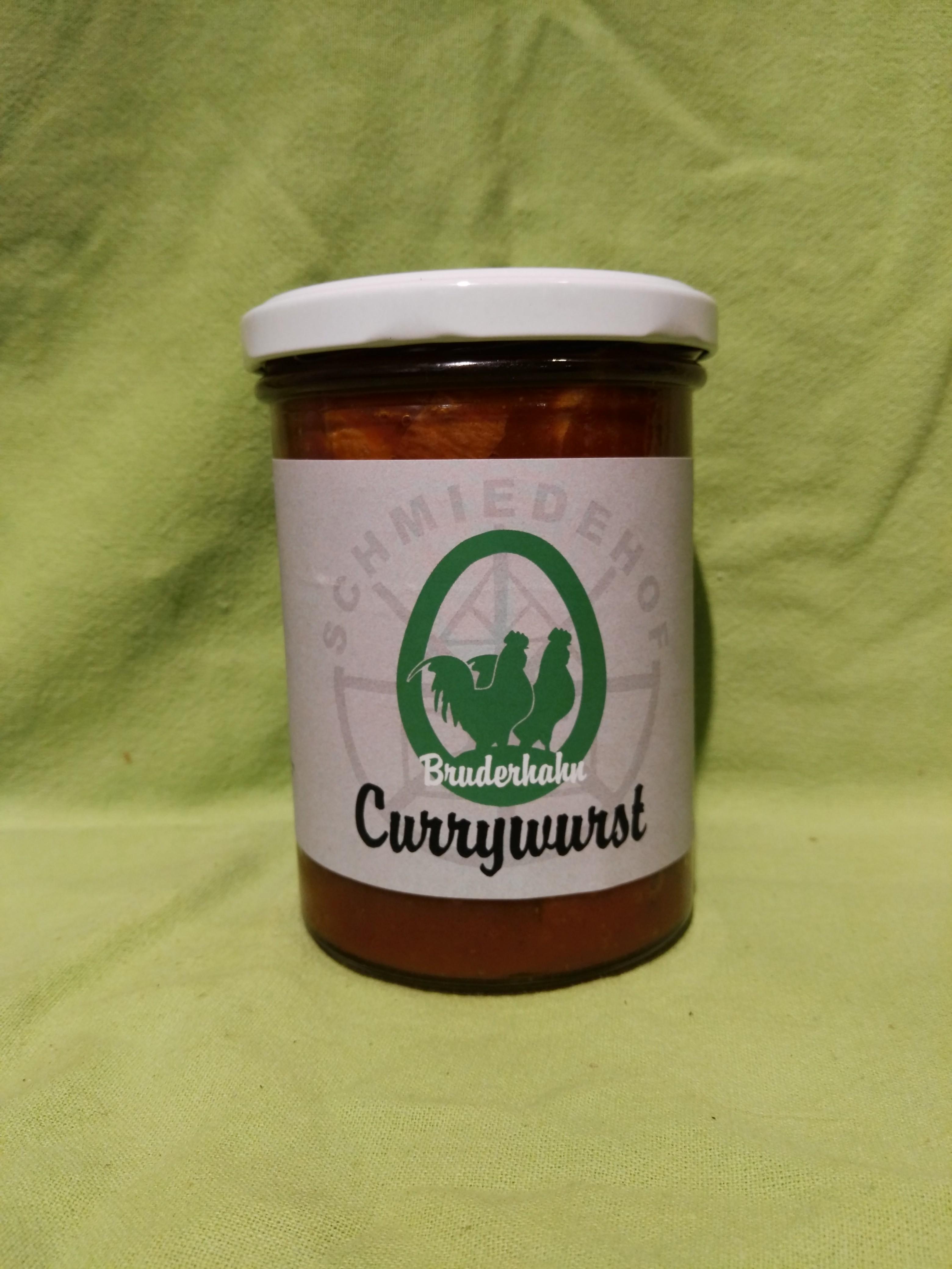 Bio Bruderhahn - Currywurst