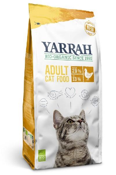 Bio Katzenkroketten mit Huhn Katzenfutter von Yarrah