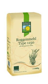 Bio Roggenmehl Typ 1150 Bioland