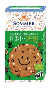Bio Cookies Vollmilch Haselnuss